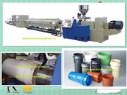 Экструзионная линия по производству ПВХ канализационной трубы
